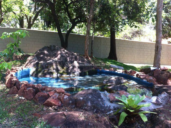 Fonte c/ cascata