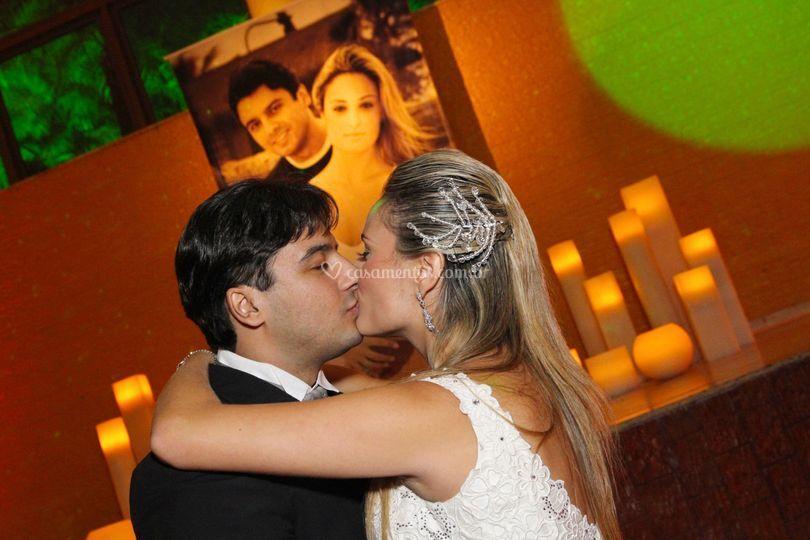 O amor está no ar...