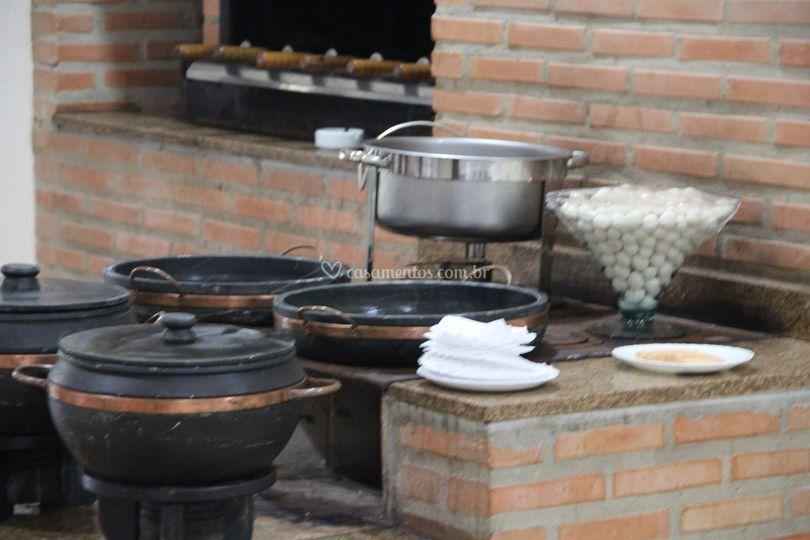 Buffet em Recanto Verde