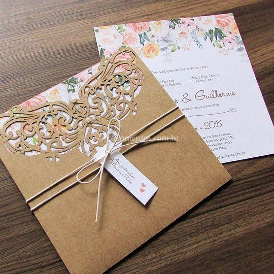 Envelopes Rendados.