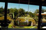 Novo sal�o lago de Est�ncia Green Garden