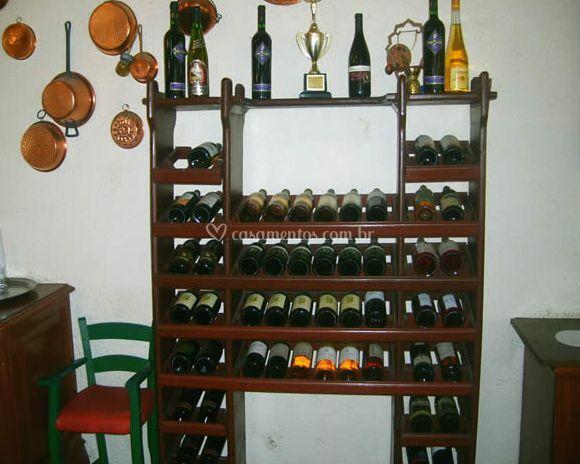 Variedade de vinhos