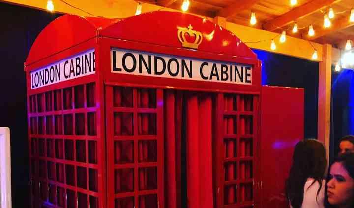 London - Cabines Fotográficas