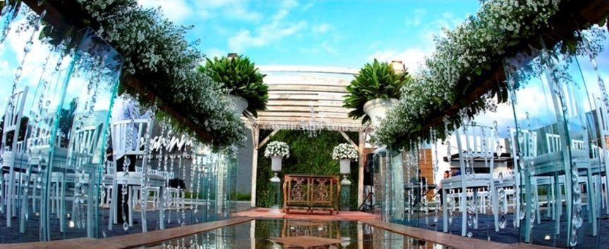 Cerimonial ao ar livre de Giovaninni Buffet e Eventos