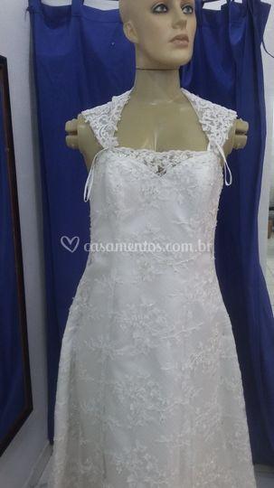 Vestido de noiva ajuste