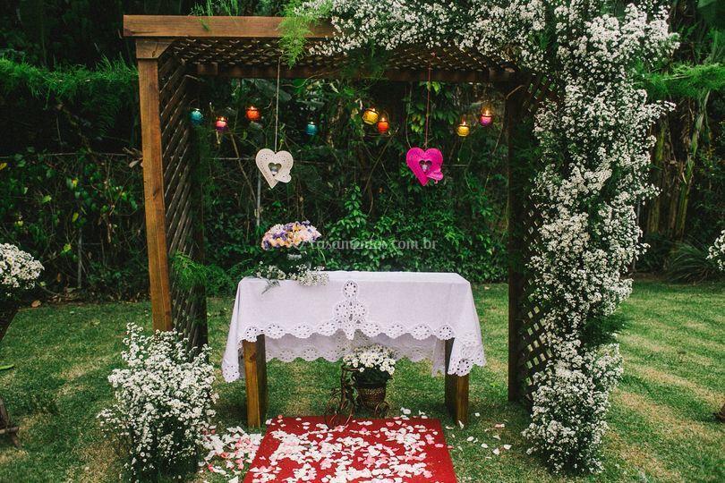 Preparação para o casamento