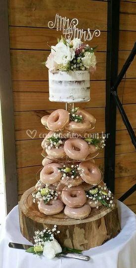 Donuts com cobertura de açũcar