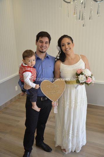 Casamento da noivinha Cris