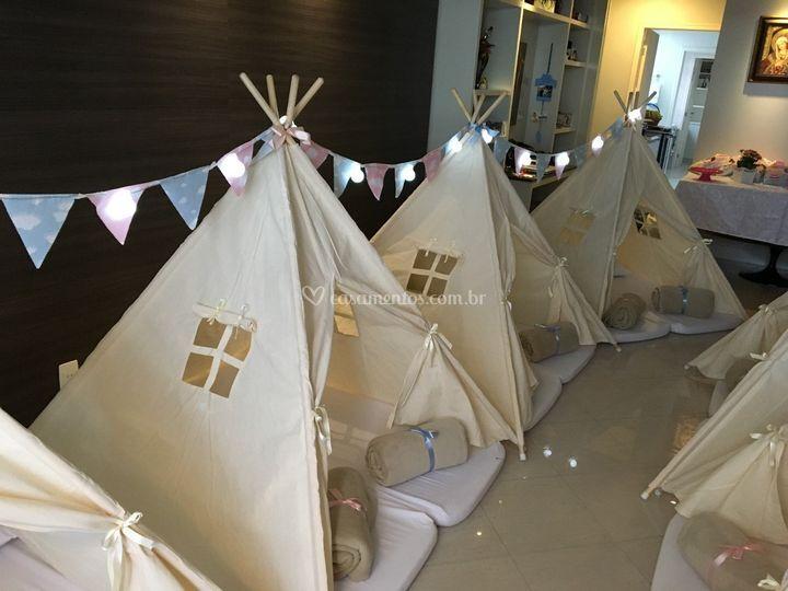 Cabanas para 2 crianças