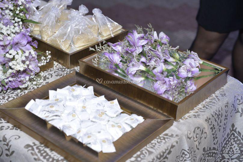 Mesa do cerimonial