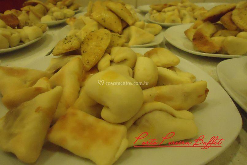 Assados deliciosos.