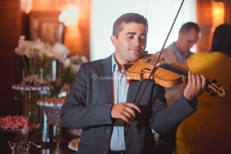 Violinista em Fortaleza