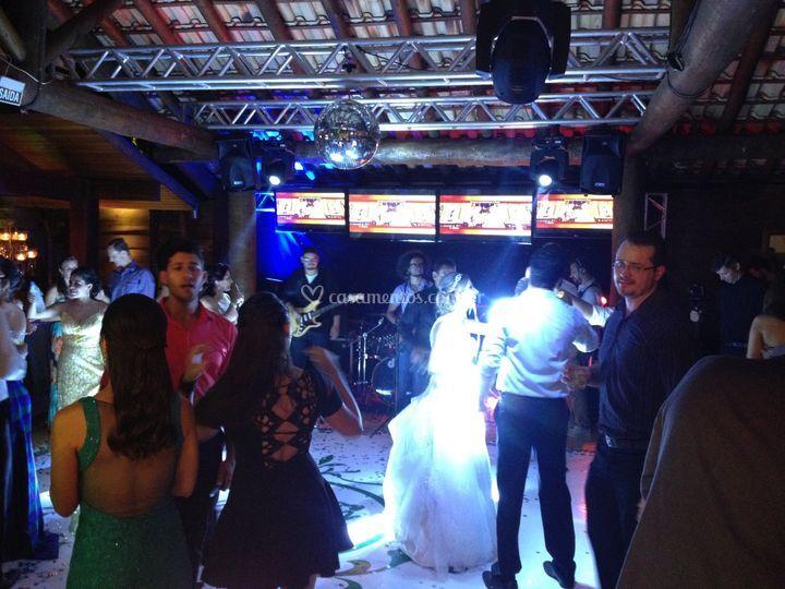 Festa casamento espaço aldeia