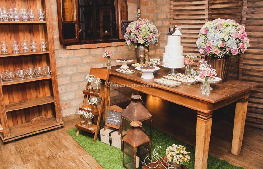 Detalhes Mini Wedding