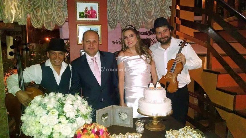 Casamento no villa borghese