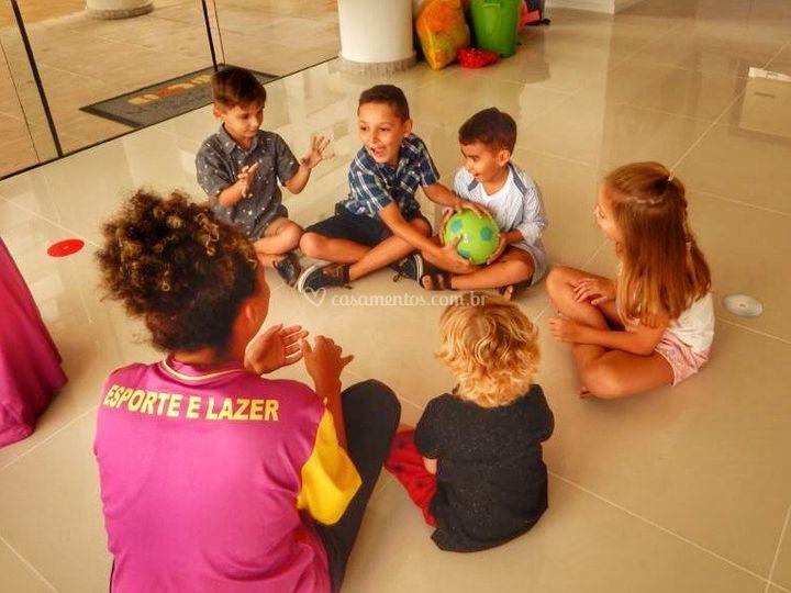 Recreação para crianças