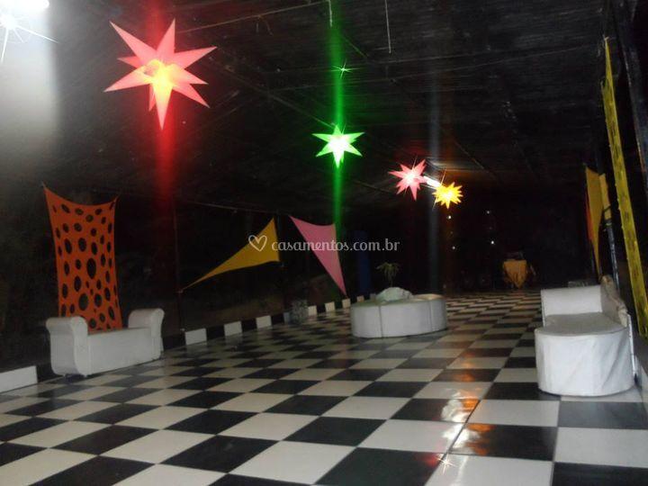 Pista de Dança/espaço lounges