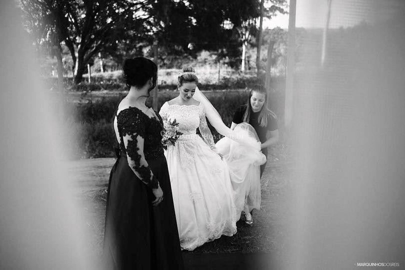 Todo carinho com nossas noivas