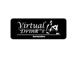 Virtual drinks logo