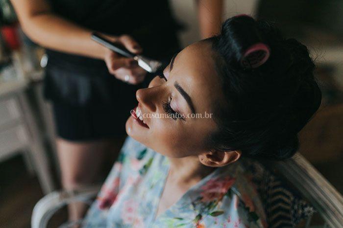 Making of noiva Beatriz