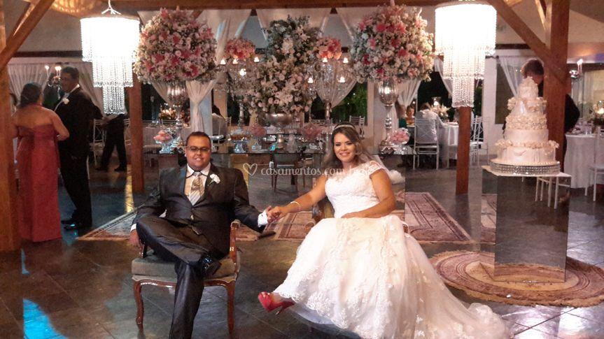 Casal Rosana e Pedro