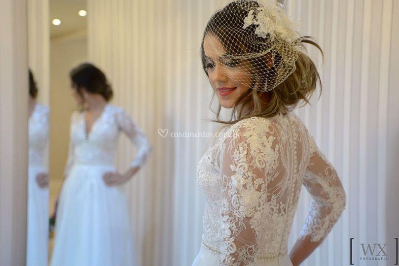 Nossa linda noiva Daniela!