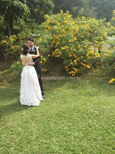 Um dia lindo para se casar