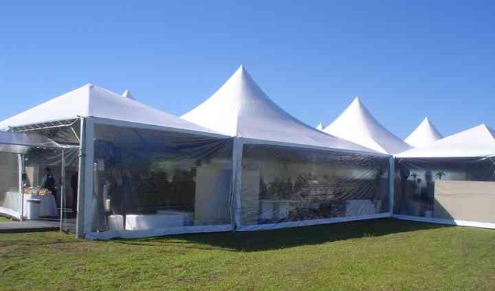 EVENTEC Tenda teto branco