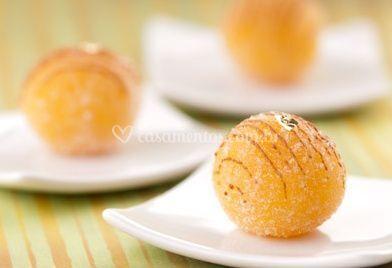 Massa de abacaxi com coco