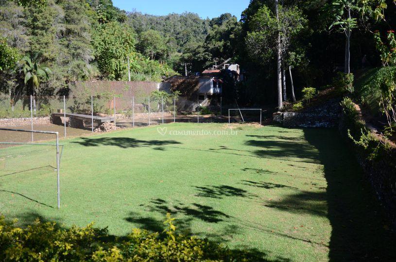 Campo de futebol do hotel