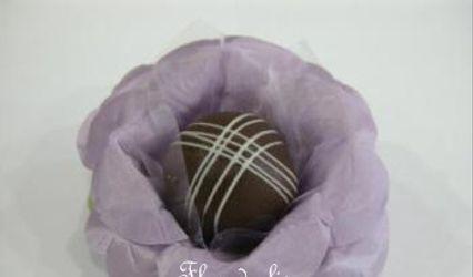 Forminhas em Tecido Flor de Lis 1