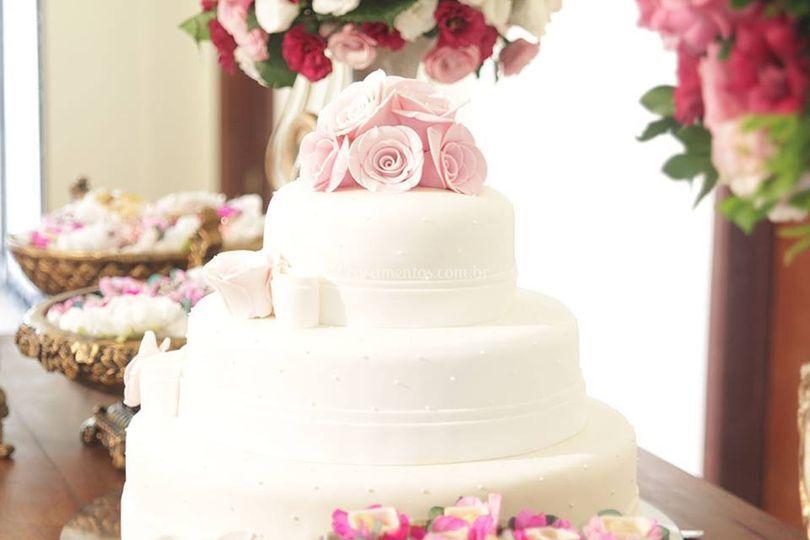 Doces  bolo bem casado
