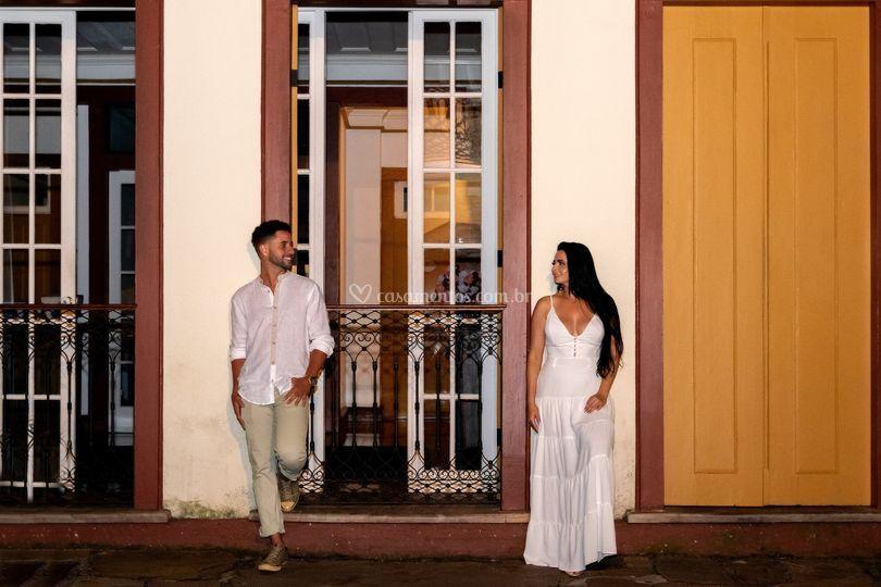 Pré Wedding em Ouro Preto