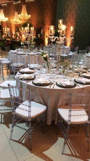 Cadeiras cristal
