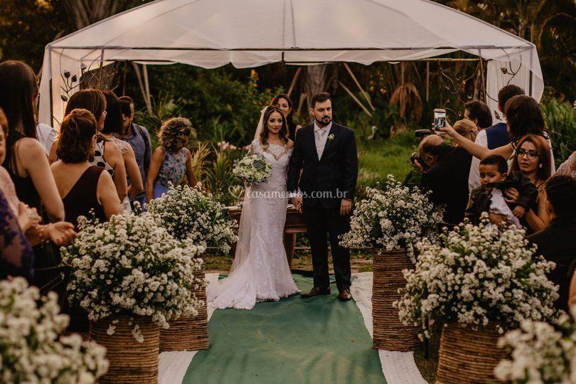 Cerimônia - Rayssa e Felipe