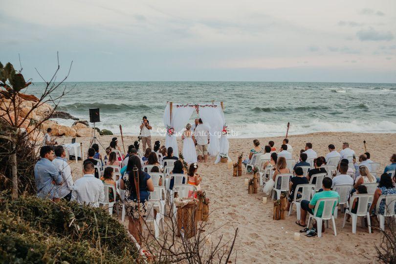 Casamento na praia SC