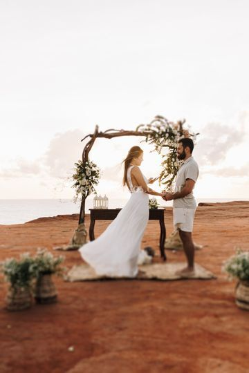 Elopment Wedding em Pipa