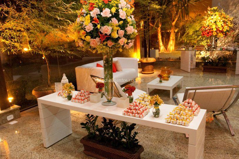 Mesa bem-casado
