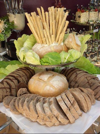 Mesa de pães