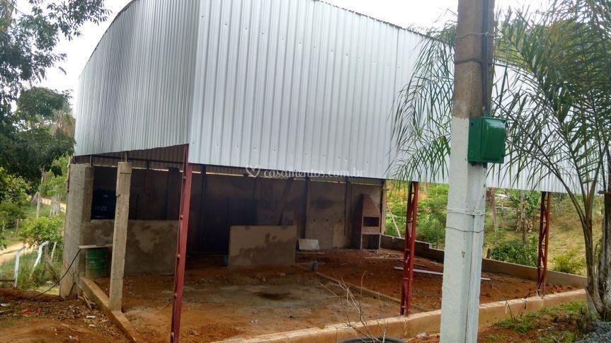 Salao em construção