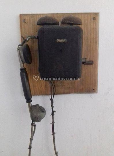 Telefone de manivela de 1918