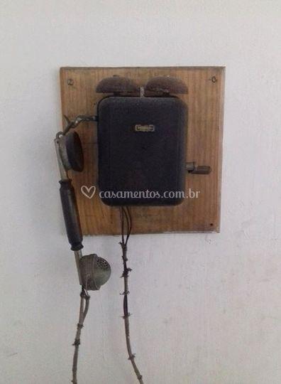 Telefone de manivela 1918
