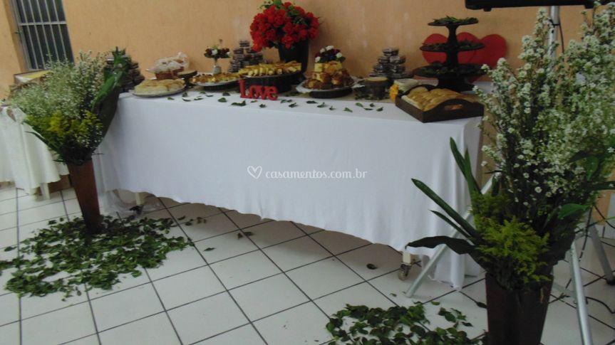 Decoração Cha da noiva