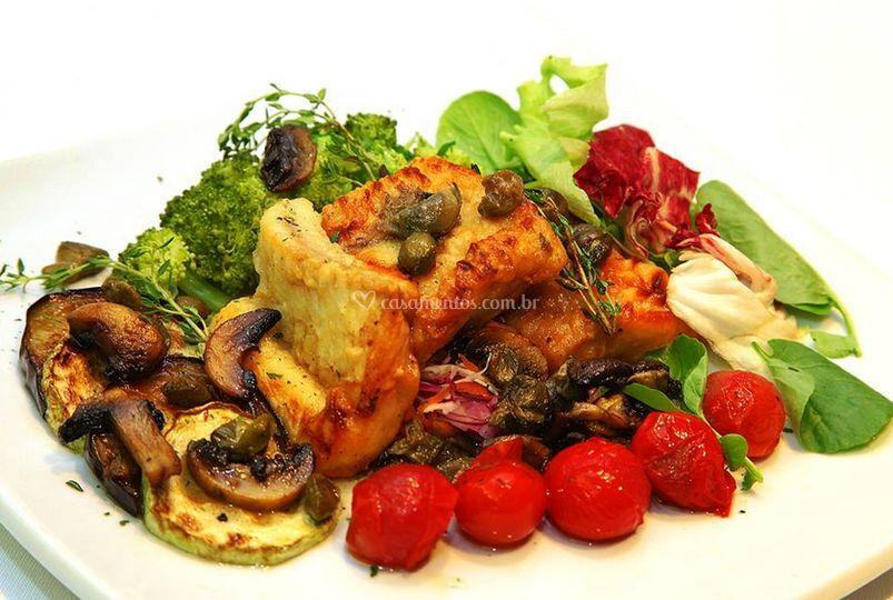Serviço gastronômico para casamentos
