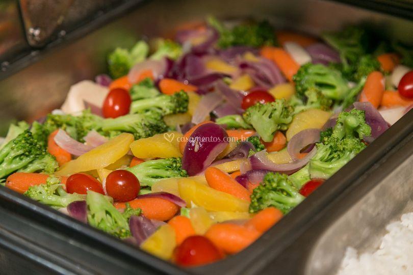 Panaché de legumes