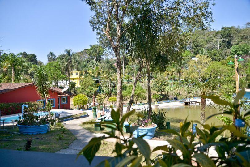 Área hospedaria e Capela