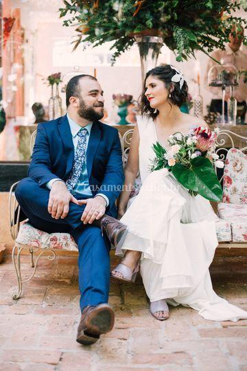 Stephanie  e Daniel