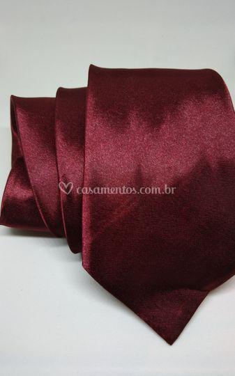 Gravata Marsala