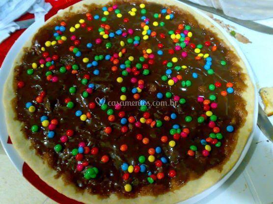 Pizzas de chocolate