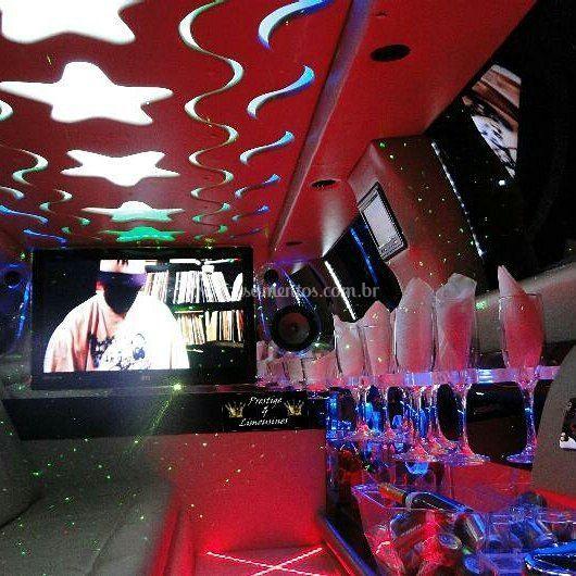 Interior da limousine